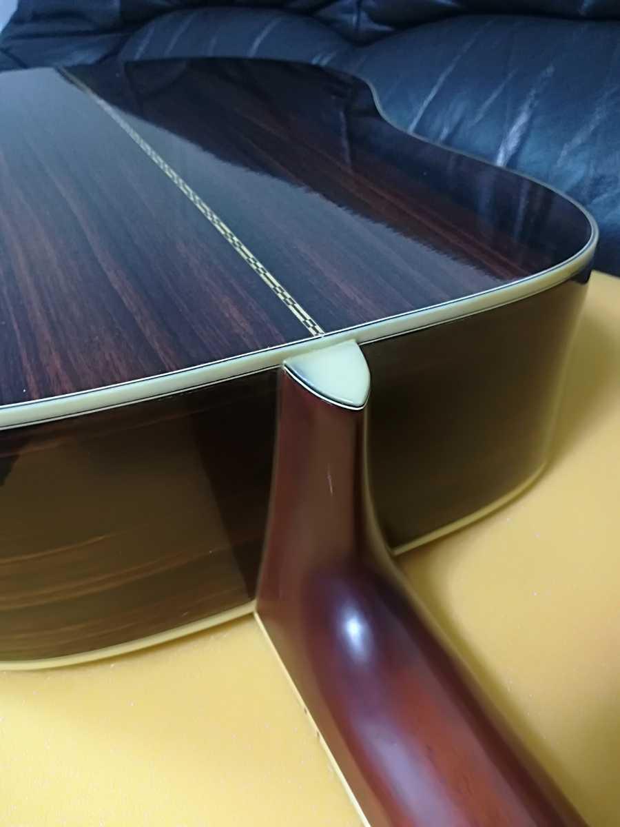 (稀少、コレクション)Morris 縦ロゴ アコースティックギター W-30 / モーリス ジャパンヴィンテージケース付き (中古現状)_画像6