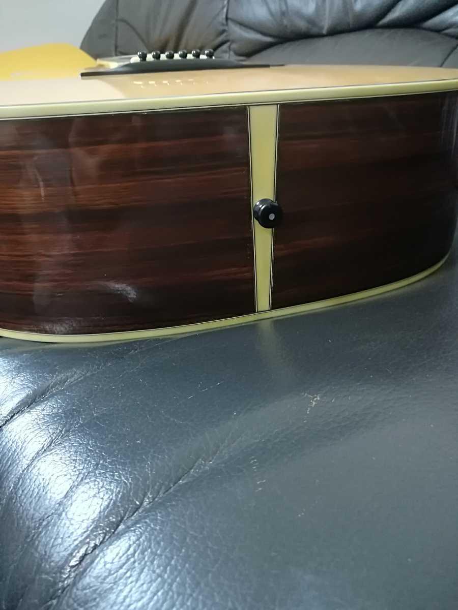 (稀少、コレクション)Morris 縦ロゴ アコースティックギター W-30 / モーリス ジャパンヴィンテージケース付き (中古現状)_画像8