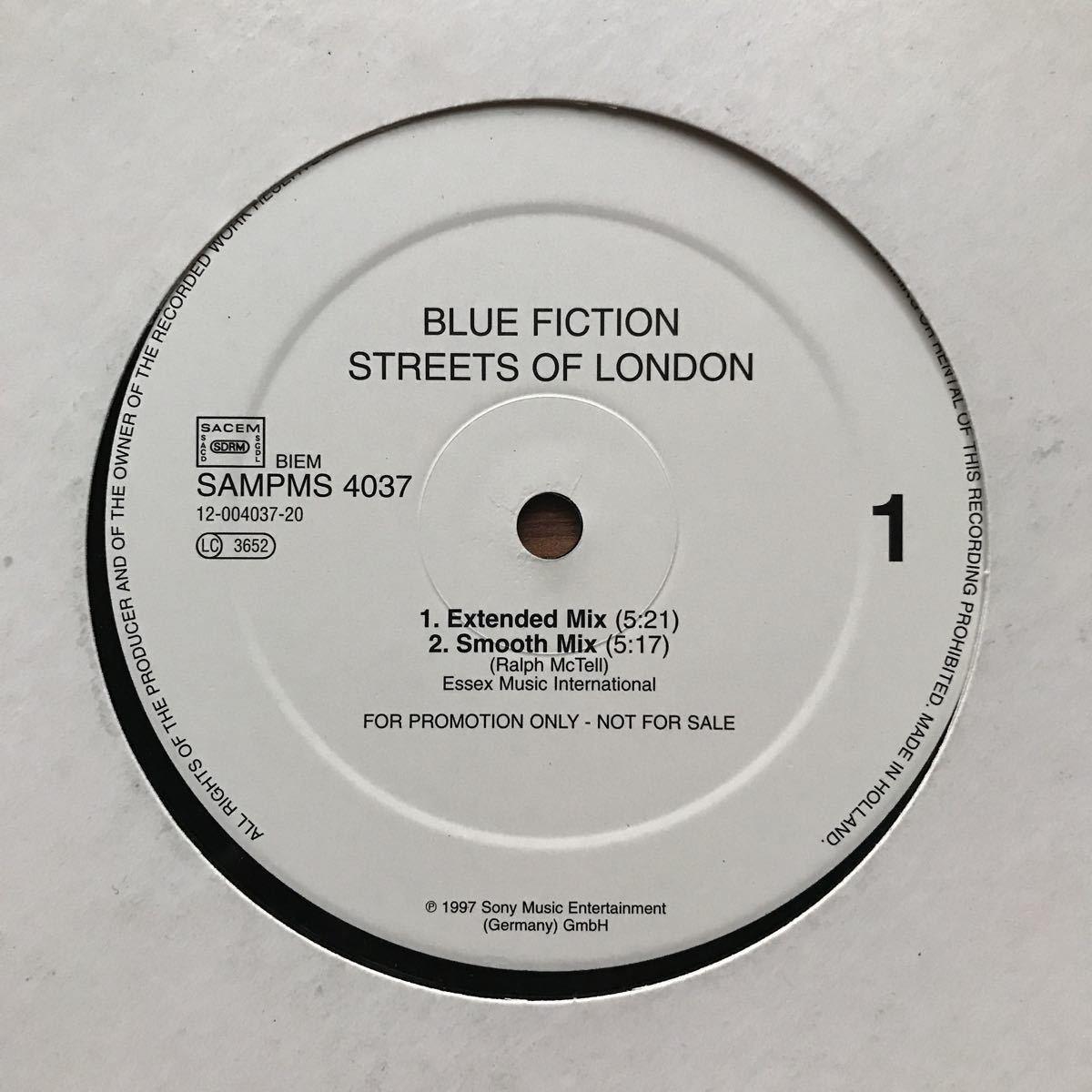 ●【eu-rap】Blue Fiction / Streets Of London[12inch]オリジナル盤