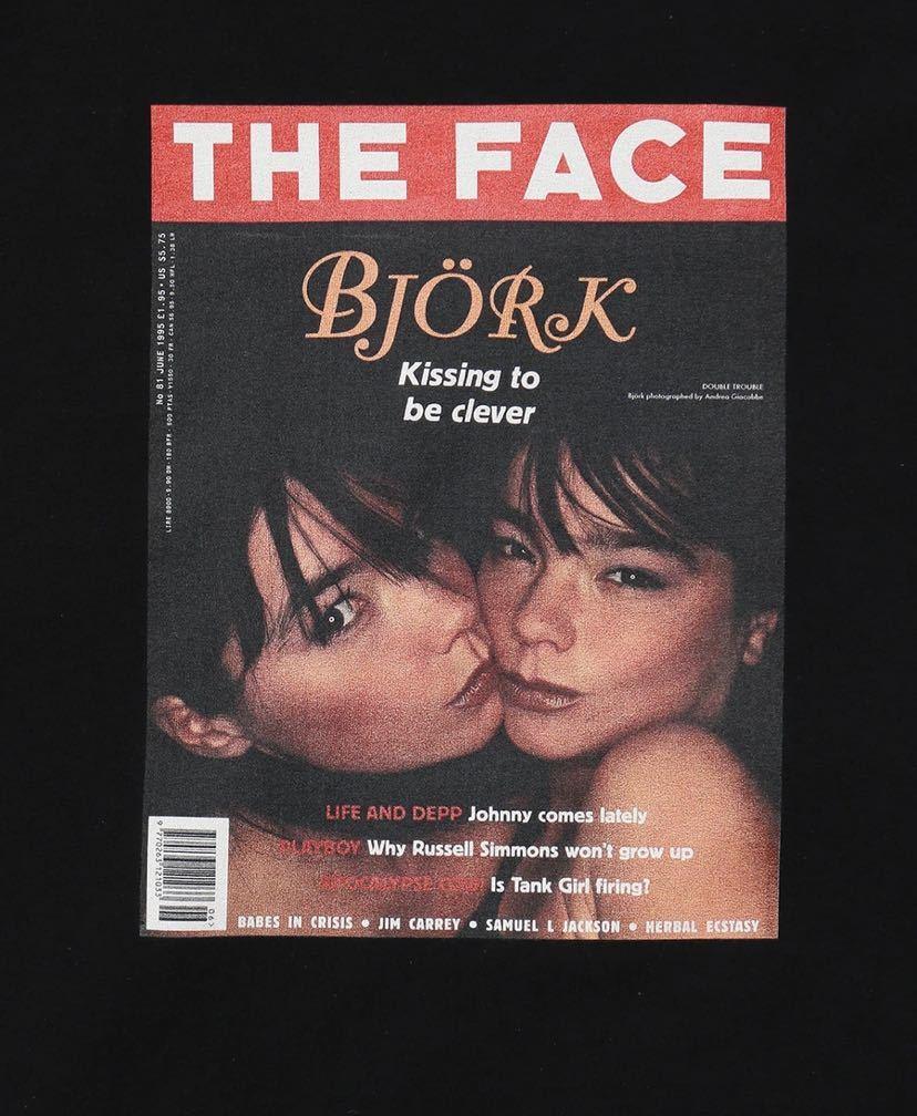 新品 FRAGMENT DESIGN × THE FACE | THE FACE COVER T 02 シークエル FRAGMENT デニム フラグメント ダブルタップス ネイバーフッド_画像3