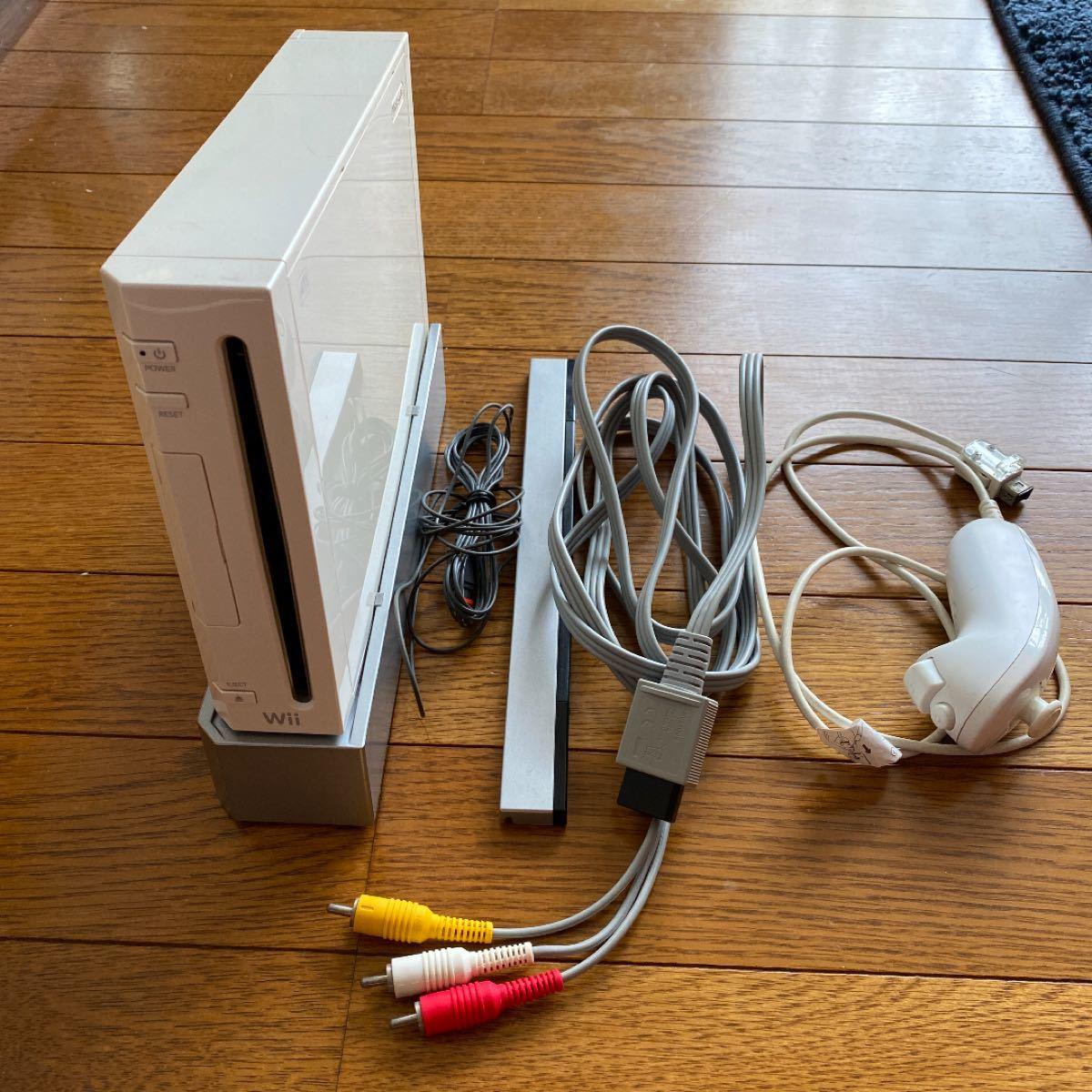 Wii 本体 コード類完備