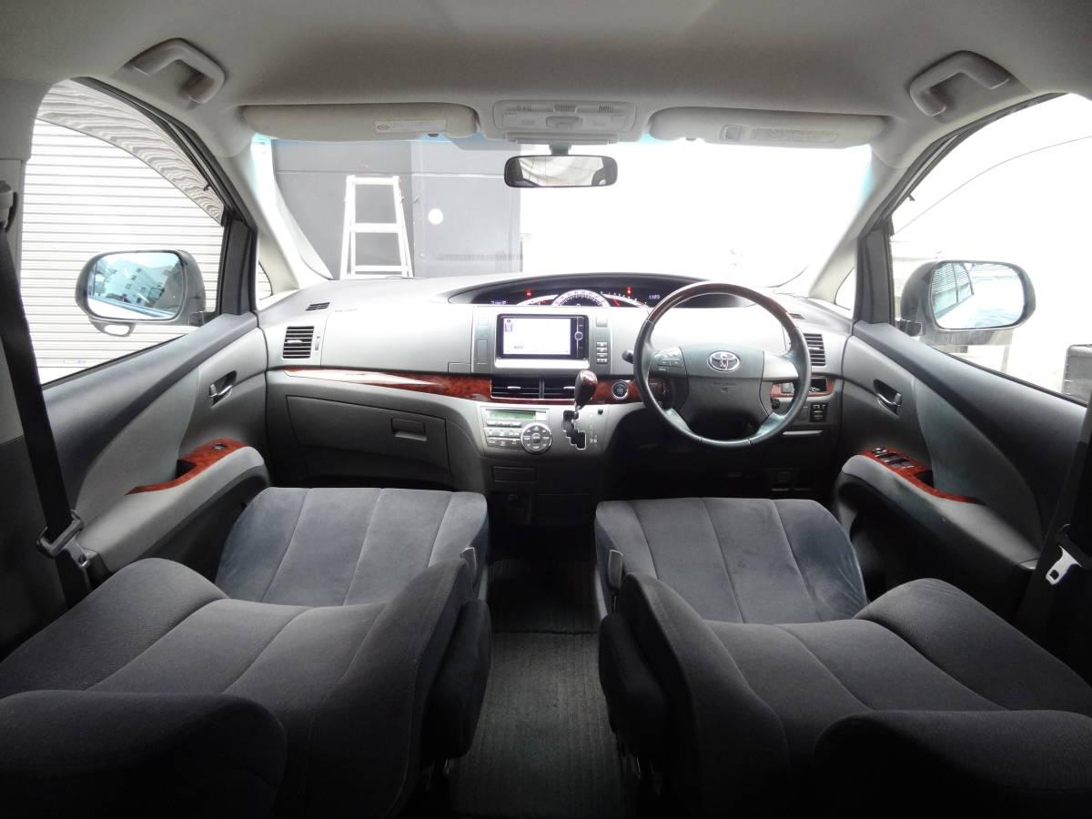 「◆22年 中期モデル エスティマ 特別仕様車「アエラスGエディション」実走行6.8万㌔!両側パワースライドドア!純正SDナビ!フルセグTV◆」の画像3