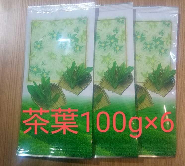 ②静岡県牧之原市産煎茶(二番茶)平袋100g×6_画像1