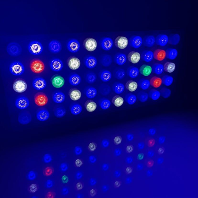 海水サンゴ水槽ライト プリズムレンズ165wアクアリウムLED 2個_画像1
