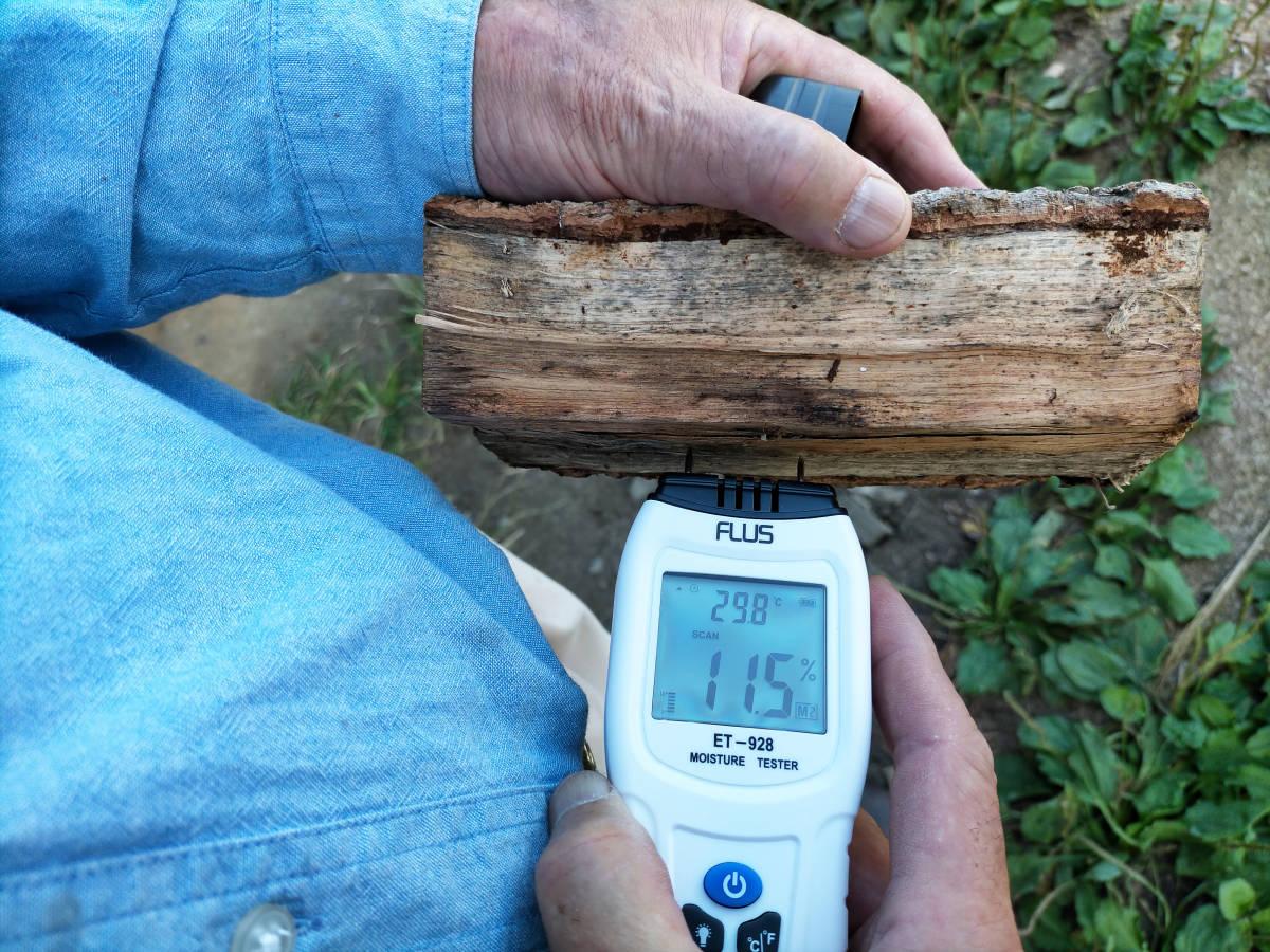 長野県産 コロ薪 約11kg 乾燥済み 数量限定! 薪ストーブ キャンプ バーベキュー