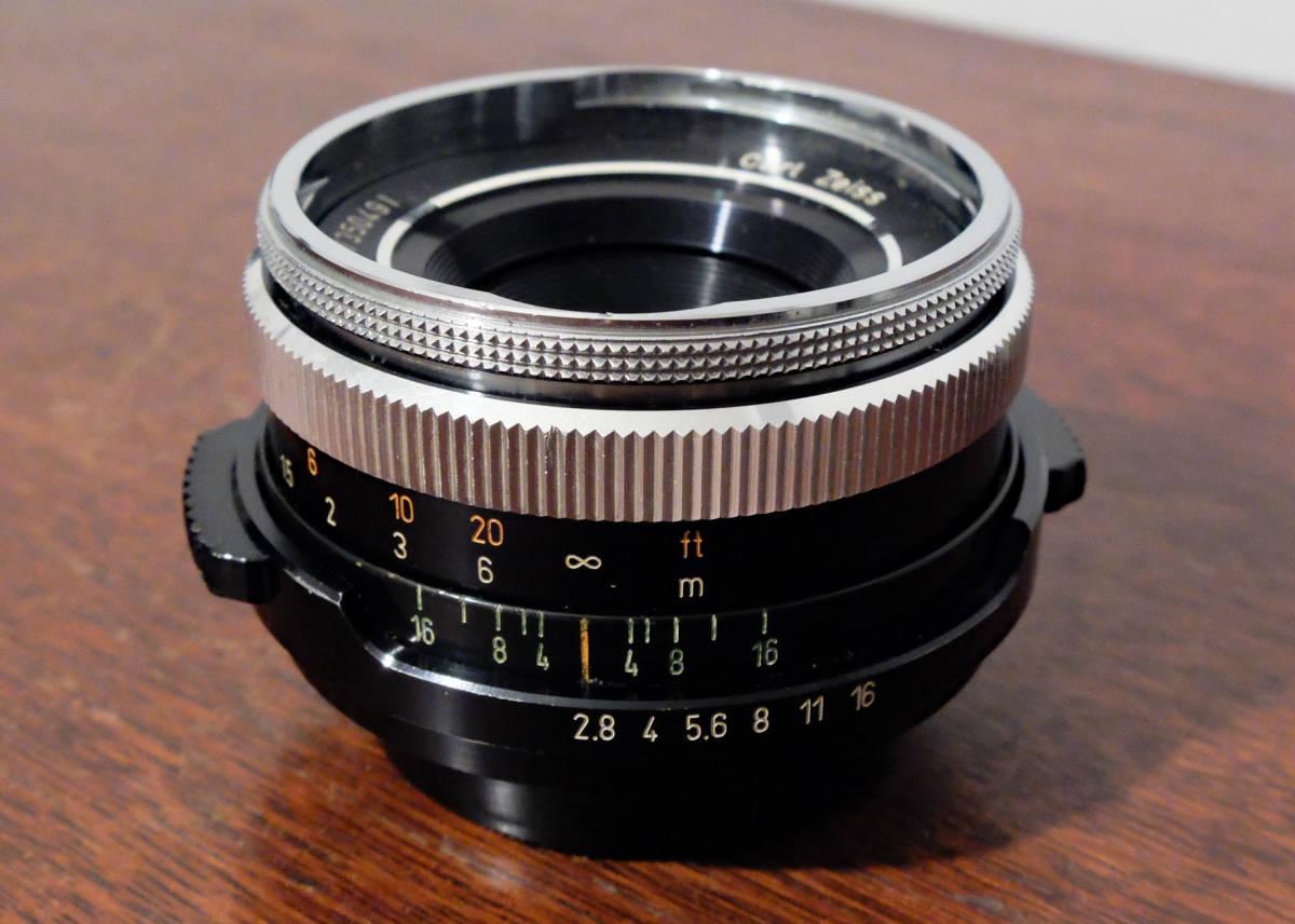【稀少/ジャンク】カールツァイス テッサー 50mm f2.8〈オーバーコッヘン/M42マウント〉 : Carl Zeiss Tessar 50mm f2.8〈Oberkochen/M42〉_画像1