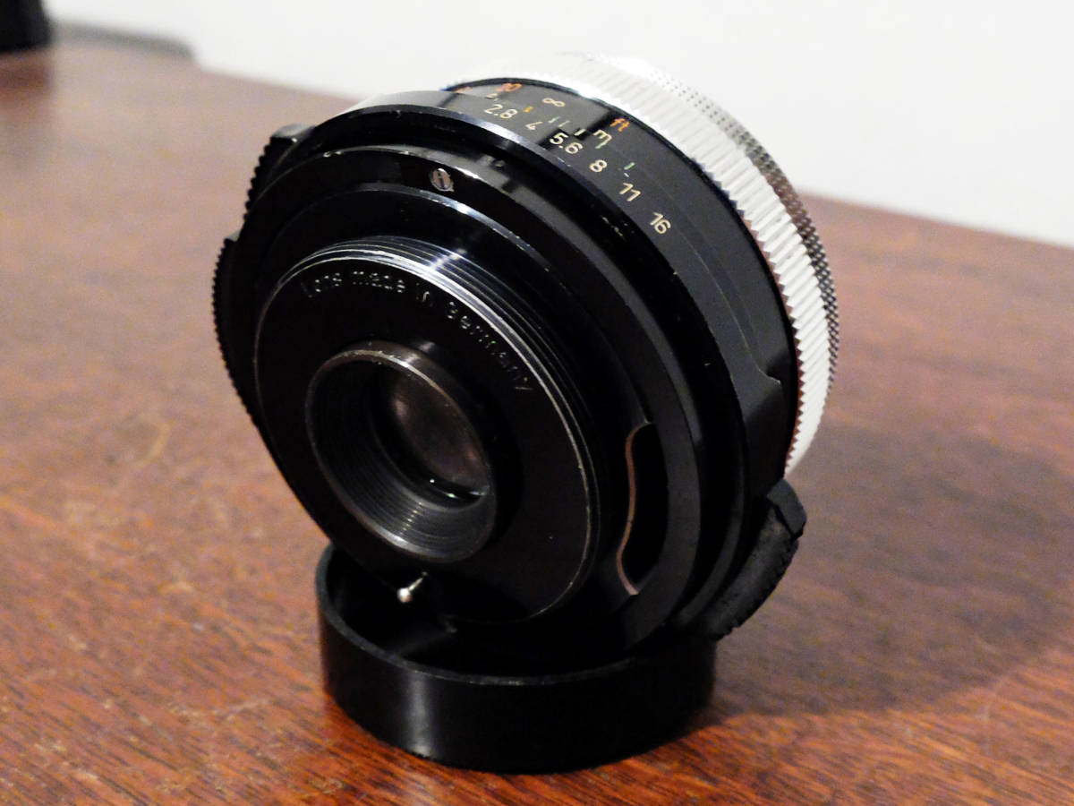 【稀少/ジャンク】カールツァイス テッサー 50mm f2.8〈オーバーコッヘン/M42マウント〉 : Carl Zeiss Tessar 50mm f2.8〈Oberkochen/M42〉_画像5