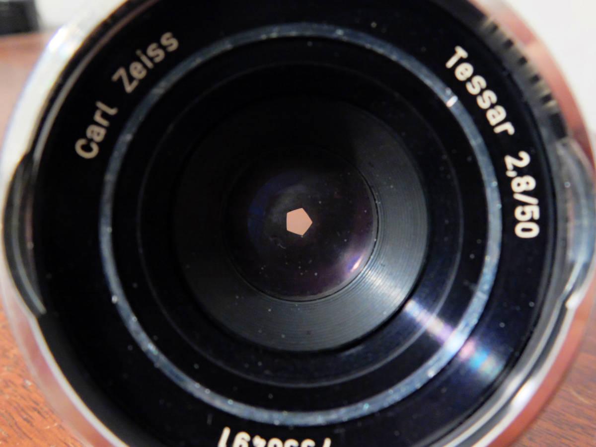 【稀少/ジャンク】カールツァイス テッサー 50mm f2.8〈オーバーコッヘン/M42マウント〉 : Carl Zeiss Tessar 50mm f2.8〈Oberkochen/M42〉_画像8