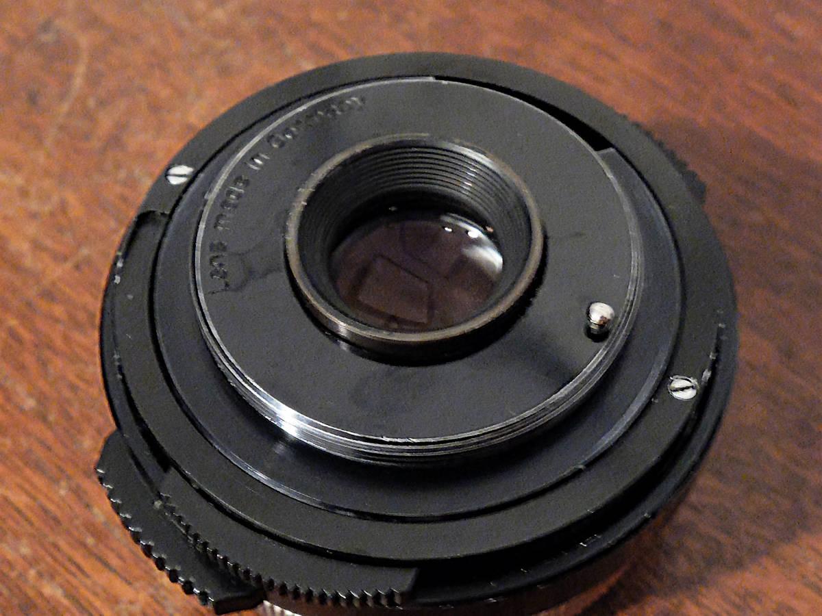 【稀少/ジャンク】カールツァイス テッサー 50mm f2.8〈オーバーコッヘン/M42マウント〉 : Carl Zeiss Tessar 50mm f2.8〈Oberkochen/M42〉_画像3