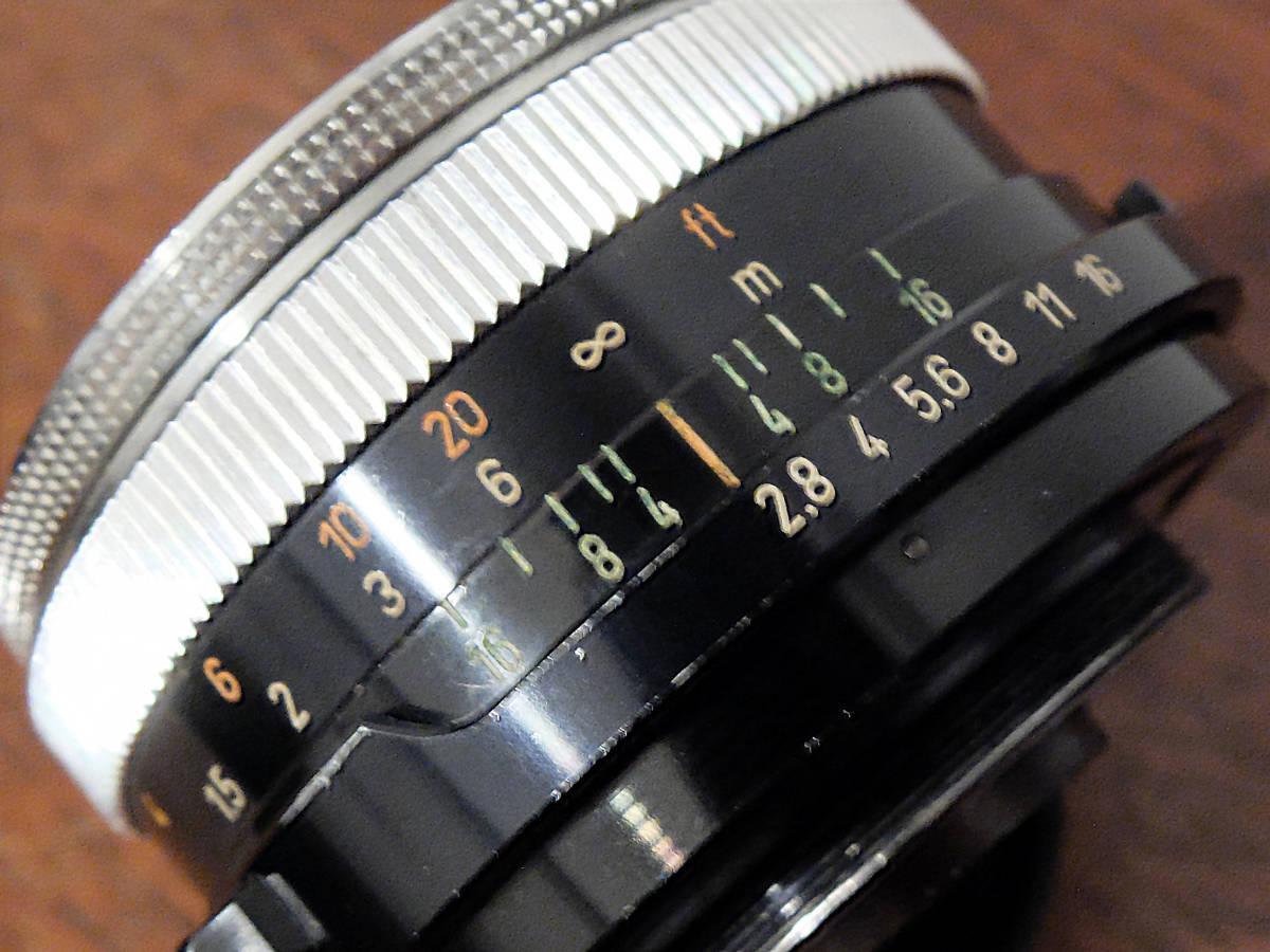 【稀少/ジャンク】カールツァイス テッサー 50mm f2.8〈オーバーコッヘン/M42マウント〉 : Carl Zeiss Tessar 50mm f2.8〈Oberkochen/M42〉_画像6