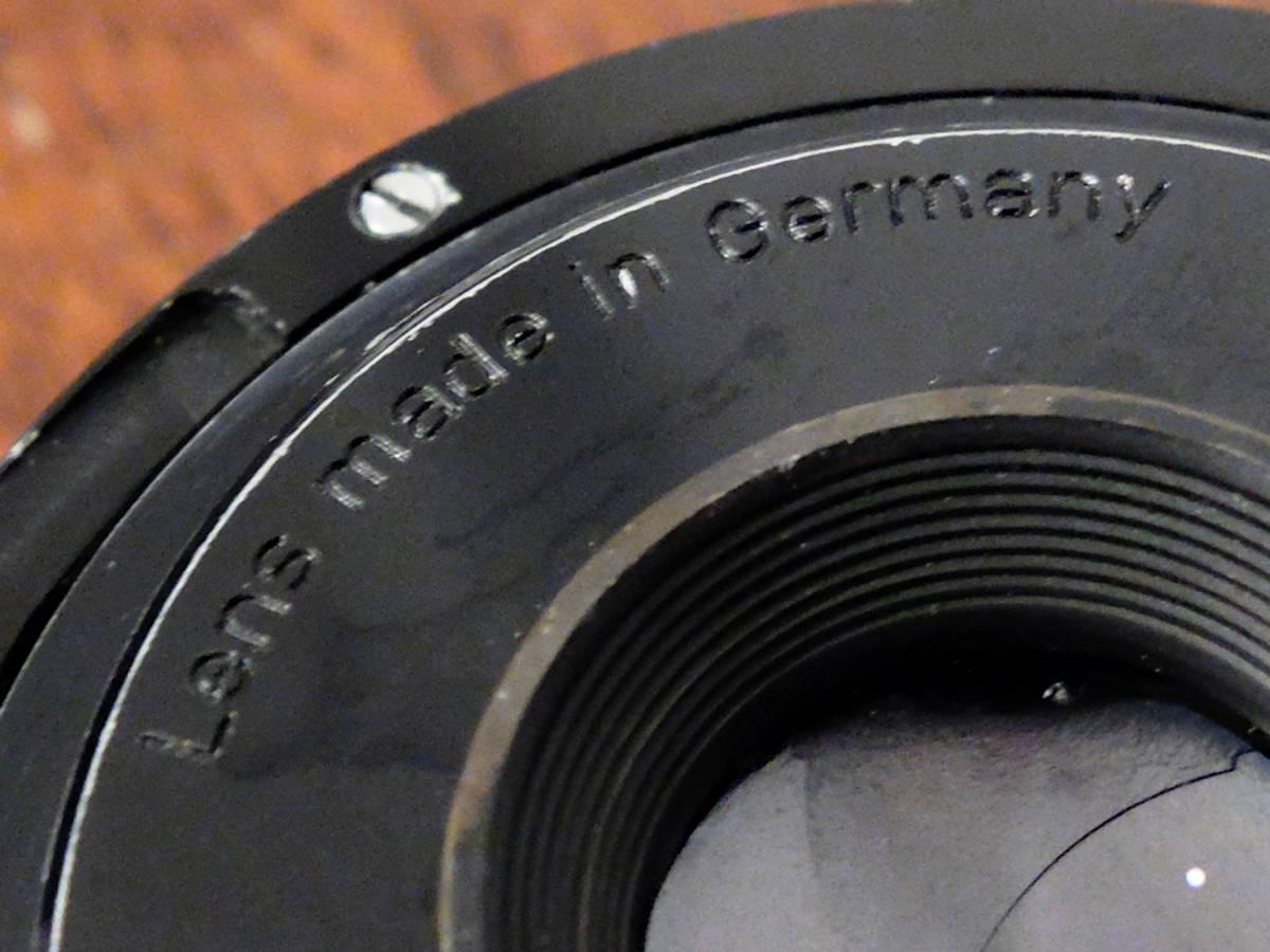 【稀少/ジャンク】カールツァイス テッサー 50mm f2.8〈オーバーコッヘン/M42マウント〉 : Carl Zeiss Tessar 50mm f2.8〈Oberkochen/M42〉_画像10