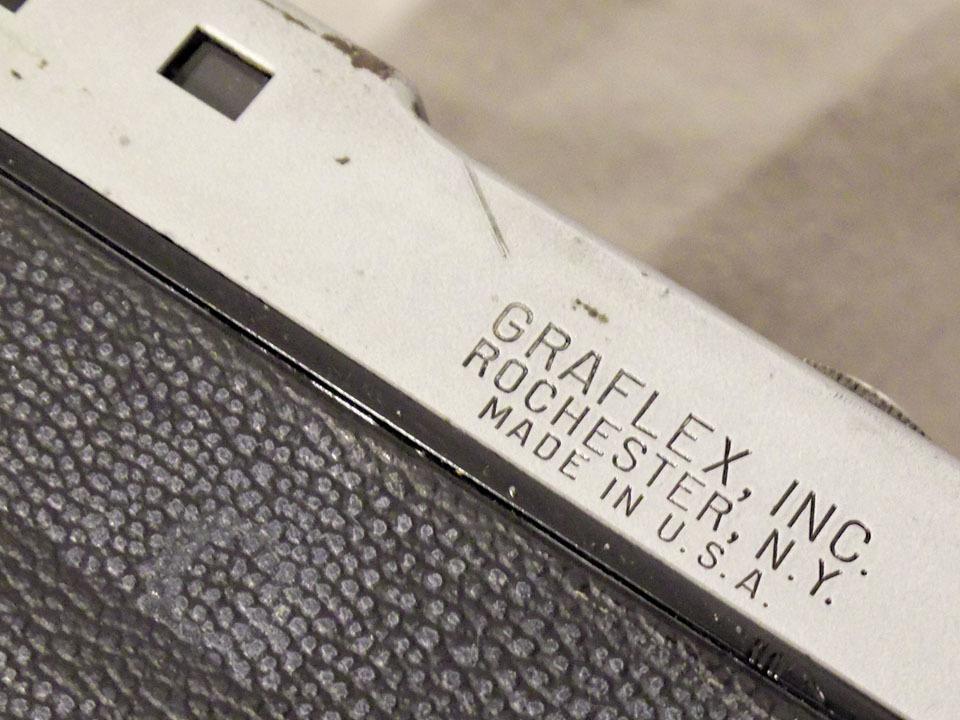 【中古/稀少/ジャンク】グラフレックス シロ35〈グラフター50mm f3.5搭載〉 : Graflex Ciro 35〈with GRAFTAR 50mm f3.5〉_画像10