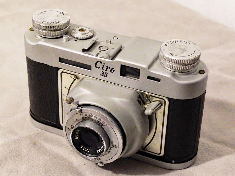 【中古/稀少/ジャンク】グラフレックス シロ35〈グラフター50mm f3.5搭載〉 : Graflex Ciro 35〈with GRAFTAR 50mm f3.5〉_画像1