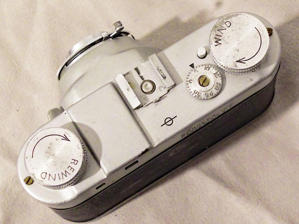 【中古/稀少/ジャンク】グラフレックス シロ35〈グラフター50mm f3.5搭載〉 : Graflex Ciro 35〈with GRAFTAR 50mm f3.5〉_画像3