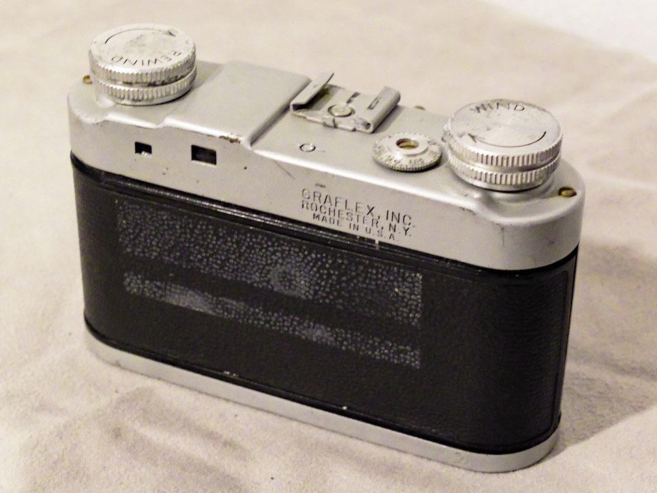 【中古/稀少/ジャンク】グラフレックス シロ35〈グラフター50mm f3.5搭載〉 : Graflex Ciro 35〈with GRAFTAR 50mm f3.5〉_画像2