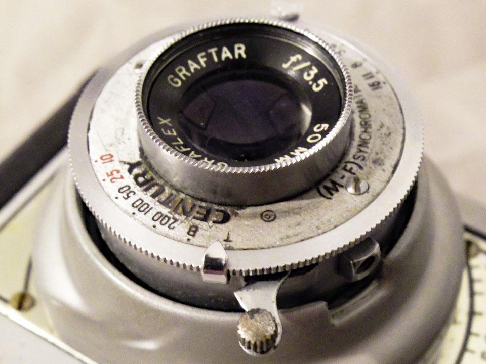 【中古/稀少/ジャンク】グラフレックス シロ35〈グラフター50mm f3.5搭載〉 : Graflex Ciro 35〈with GRAFTAR 50mm f3.5〉_画像8