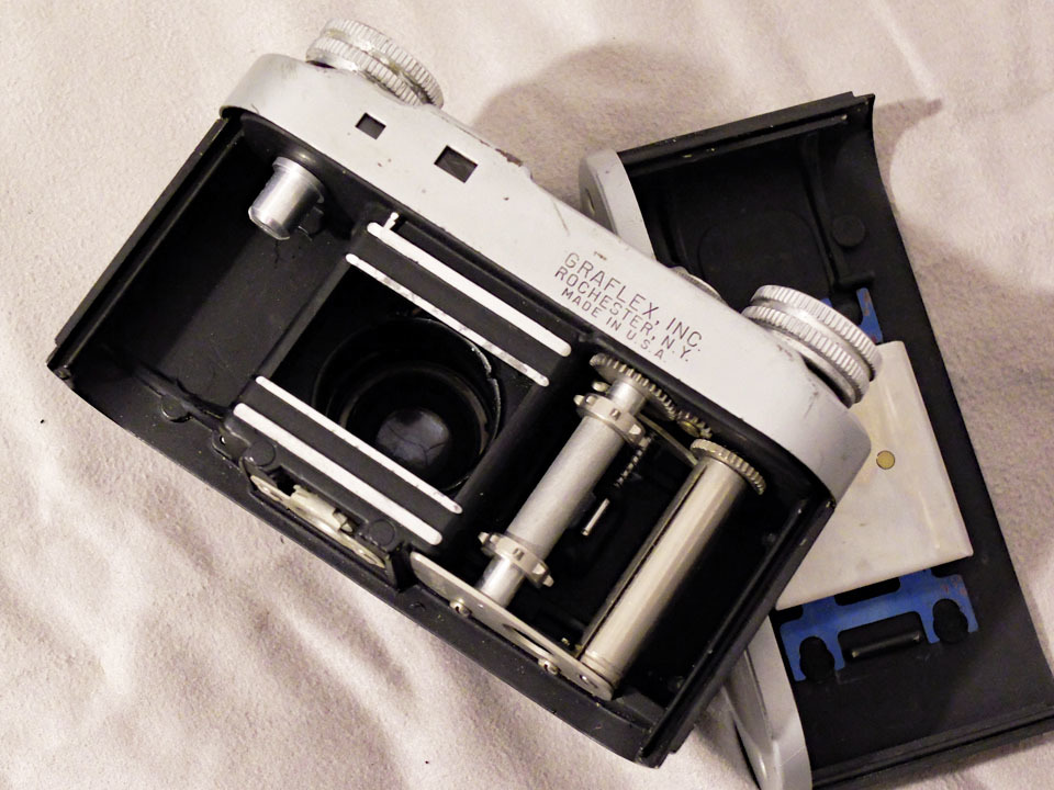 【中古/稀少/ジャンク】グラフレックス シロ35〈グラフター50mm f3.5搭載〉 : Graflex Ciro 35〈with GRAFTAR 50mm f3.5〉_画像5