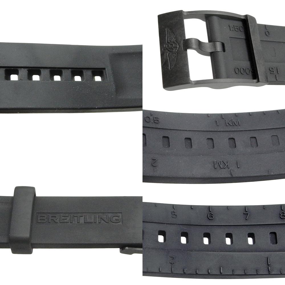 ブライトリング コルト スカイレーサー デイト クォーツ QZ メンズ ブライトライト 黒文字盤 X74320 X74320E4/BF87 BREITLING_画像4
