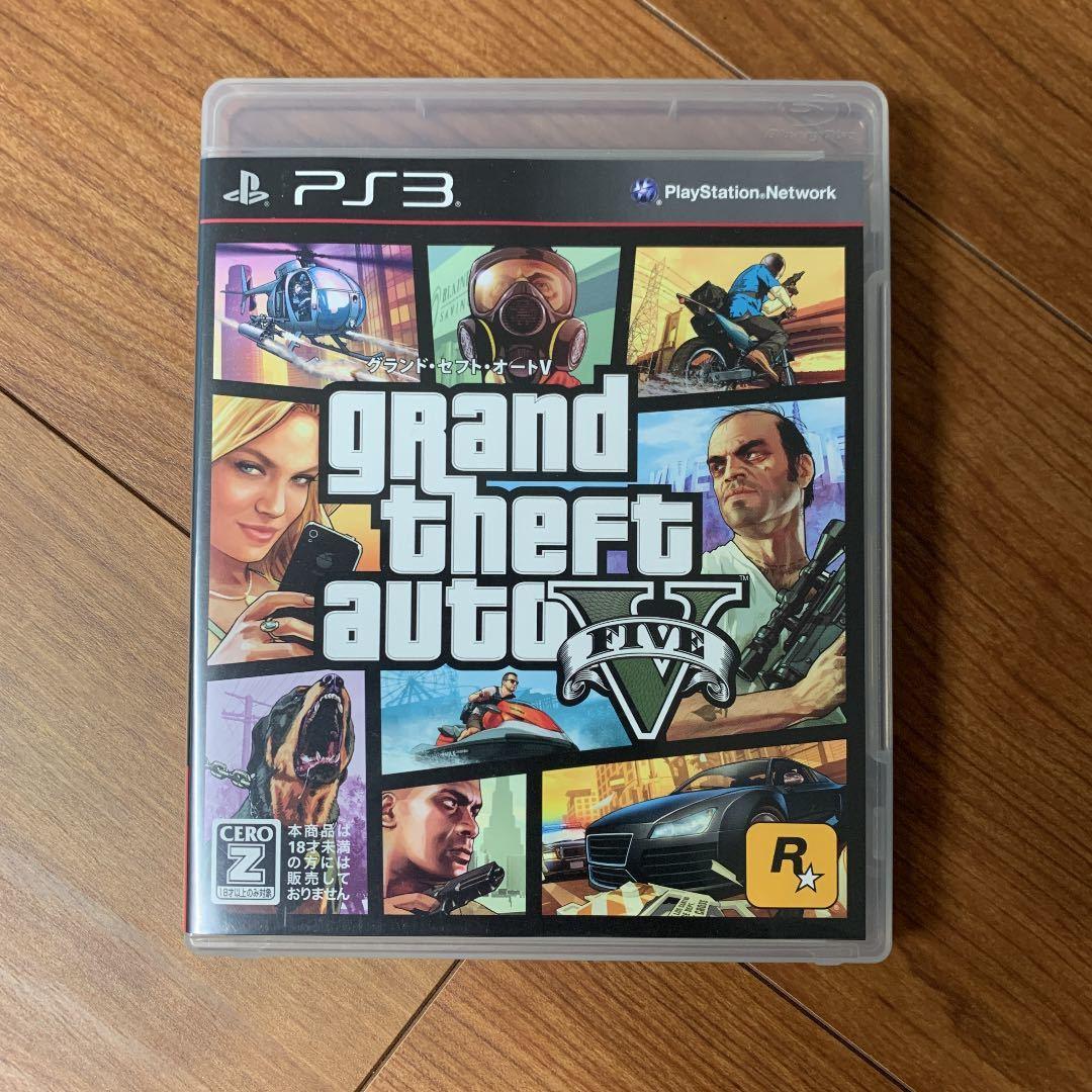 PS3 GTA5 グランドセフトオート5 グランド・セフト・オートV