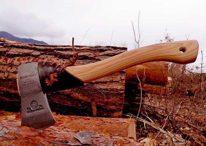フルターフォッシュ スカウト専用 本革ネックガード 特別版 Hultafors Scout専用 25%割引き Hultafors Scout 手斧
