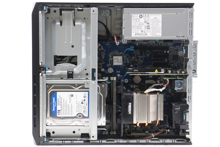 hp Z2 SFF G4 Workstation Xeon E-2144G 3.6GHz/16GB/512GB(SSD)+1TB/Win10/Quadro P620 【54C202868】_画像3