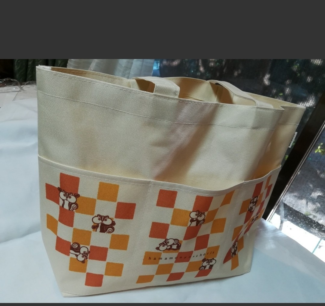 エコ ベジタブル トートバッグ 買い物バッグ  [未使用品]