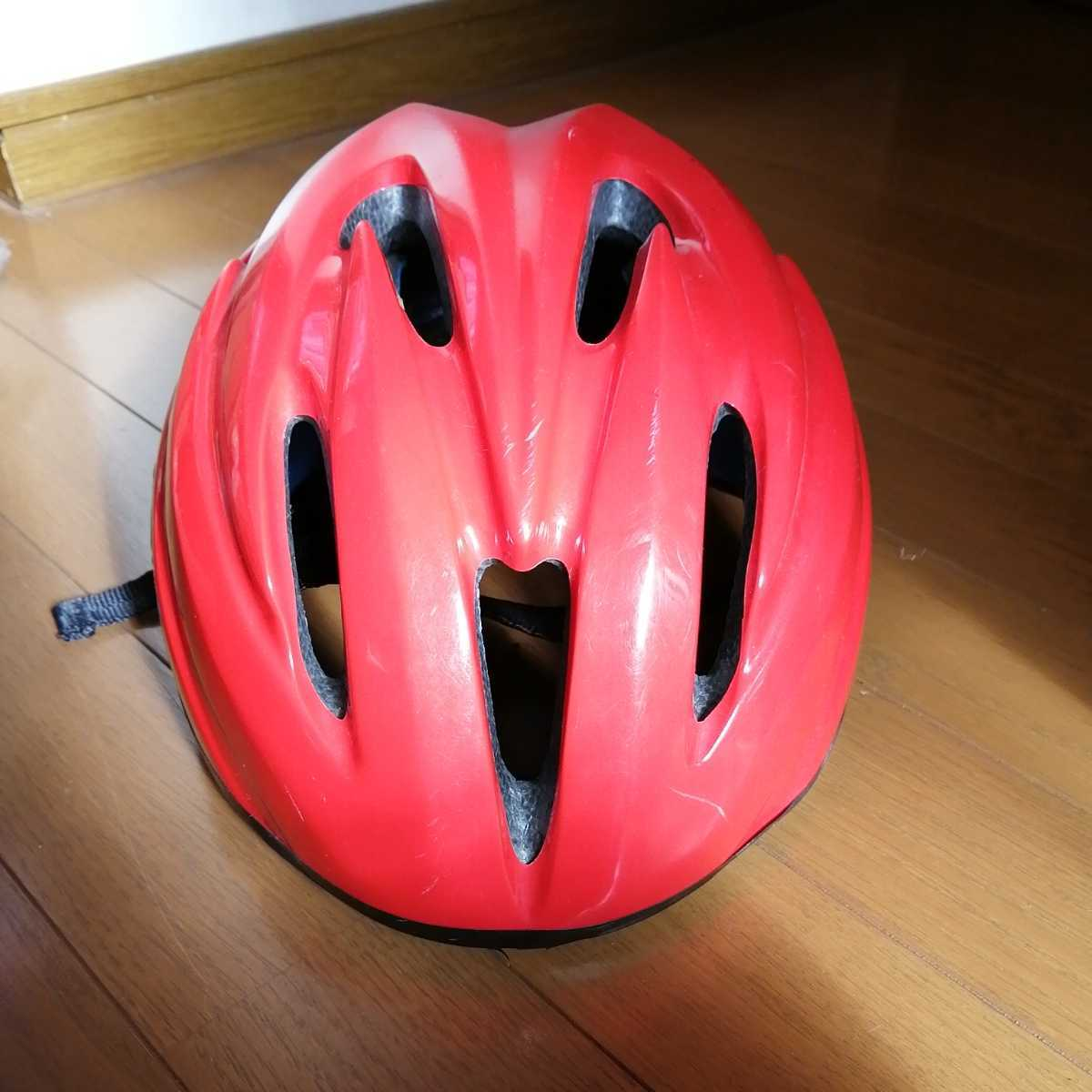 OGK 子ども用 ヘルメット 赤 52~56cm 4~8歳 自転車 三輪車_画像2