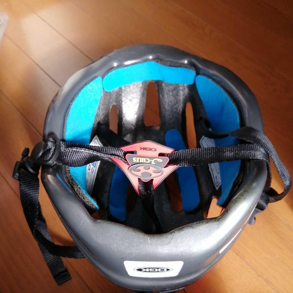 OGK 子ども用 ヘルメット 赤 52~56cm 4~8歳 自転車 三輪車_画像6