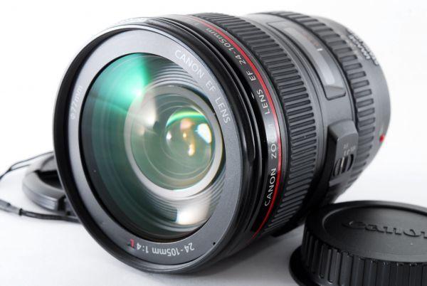 ★美品★Canon キヤノン EF 24-105mm F4L IS USM 716161_画像2