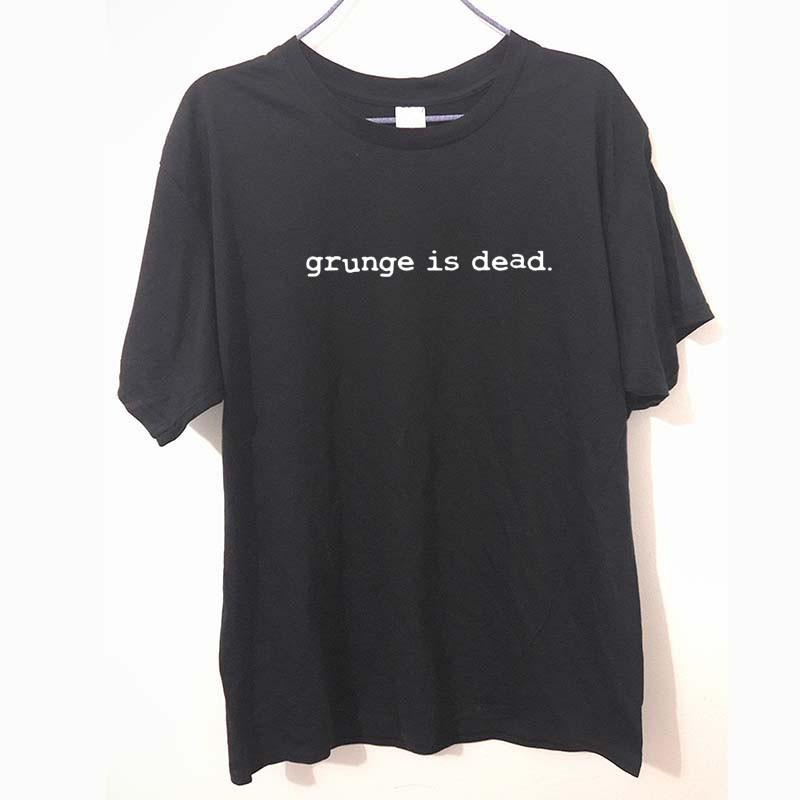 新品送料無料☆彡☆grunge is dead Tシャツ黒 ★XLサイズ★NIRVANA ニルヴァーナ◆カートコバーン着用_画像2