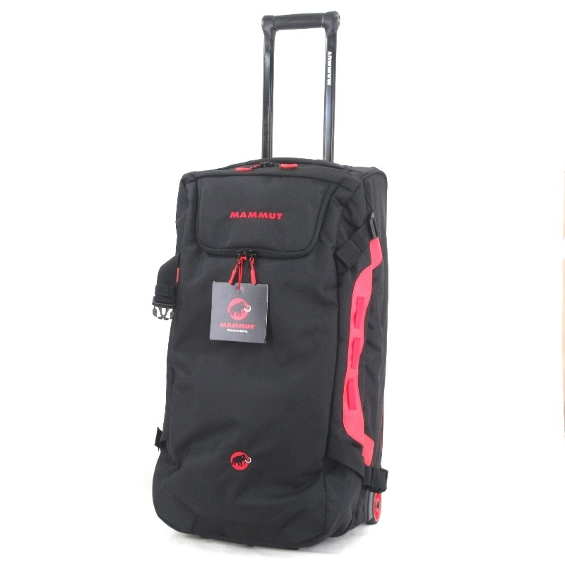 ¥1~ 未使用 MAMMUT マムート スーツケース Cargo Trolley 90 カーゴトロリー キャリーケース 2輪 ブラック 黒 2510-03470 65000810