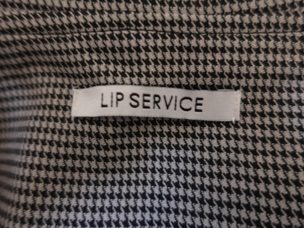 LIP SERVICE/リップサービス 千鳥柄コート風ワンピース_画像3