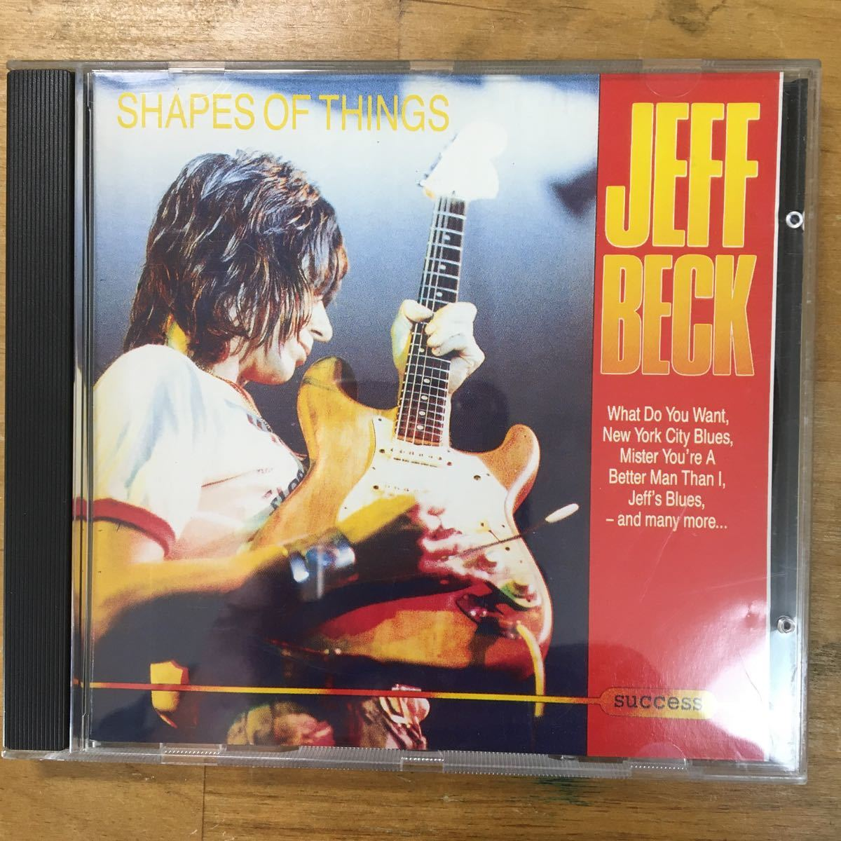 CD Jeff Beck Shapes of Things
