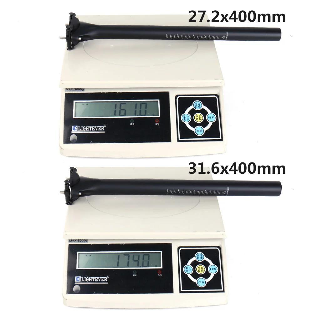Elita 1炭素繊維自転車のシートポスト27.2/30.8/31.6ミリメートルマウンテン/ロードバイクシートポストudマット自転車部品_画像10