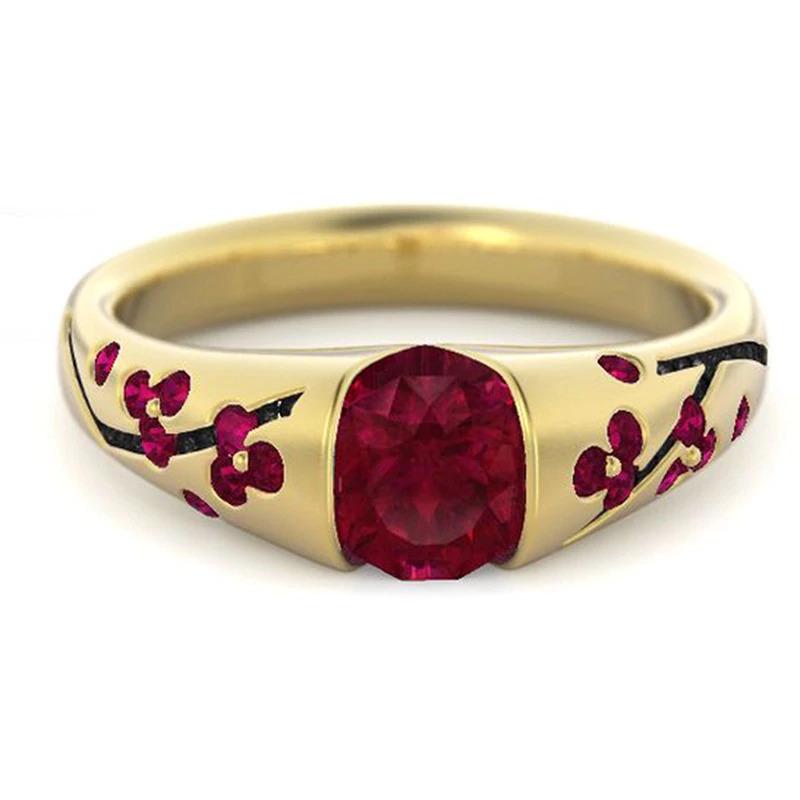 ファッション女性リングクラシック結婚指輪女性多色ラインクリスタルリング女性のためのジュエリー記念ギフト_画像7