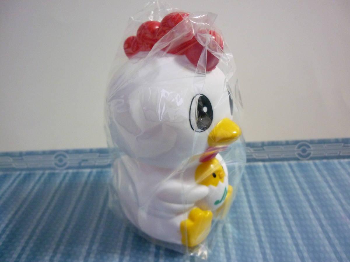 JAバンク 干支 貯金箱 鳥 酉 鶏 とり ソフビ フィギュア コインバンク 農協_画像4