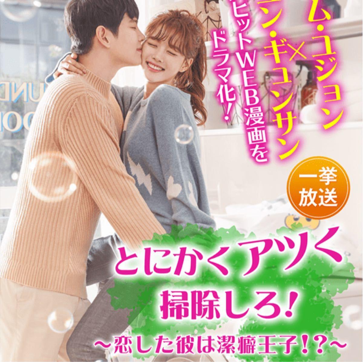 ☆韓国ドラマ☆『とにかくアツく掃除しろ!』Blu-ray  全話  CDケース入