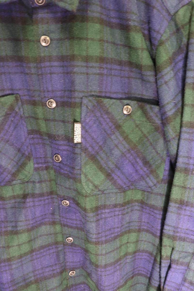 【メンズ】【良品保証返品OK】EDWINウールシャツ/アメカジタータンマドラスM_画像3