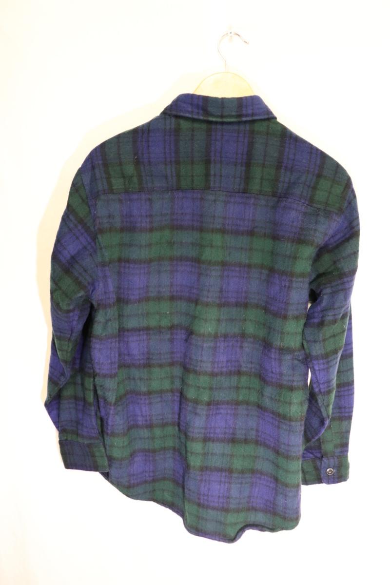 【メンズ】【良品保証返品OK】EDWINウールシャツ/アメカジタータンマドラスM_画像7