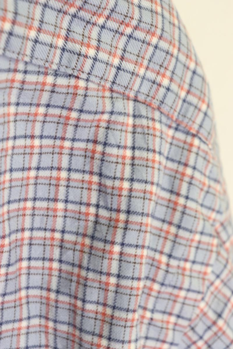 【メンズ】【良品保証返品OK】ラルフローレンチェックBD長袖シャツブルーグレイ/トラッドL_画像8