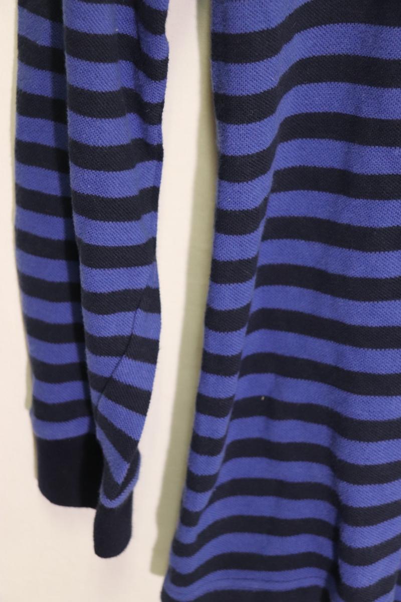 【メンズ】【良品保証返品OK】ラルフローレンボーダーロングポロシャツネイビーブルー/老舗トラッド8090's_画像5