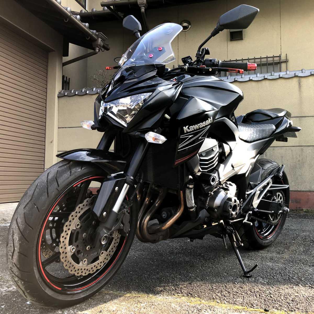 「カワサキ Z800 個人出品 消費税無 諸経費込 車検長R4/11 ガレージ保管 熊本 KAWASAKI」の画像1
