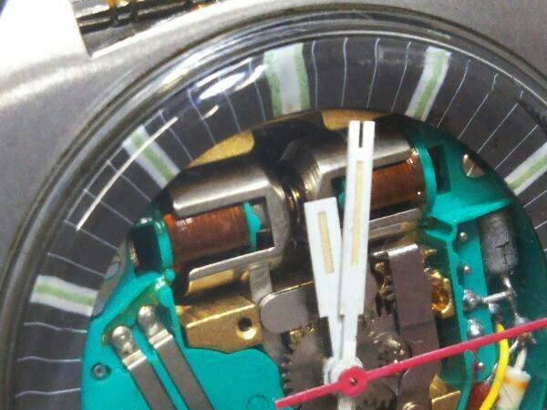 [ジャンク] ブローバ アキュトロン BULOVA ACCUTRON 音叉時計 動作未確認 スケルトン文字盤 メンズ腕時計 _画像3