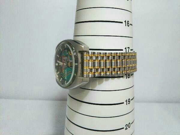 [ジャンク] ブローバ アキュトロン BULOVA ACCUTRON 音叉時計 動作未確認 スケルトン文字盤 メンズ腕時計 _画像9
