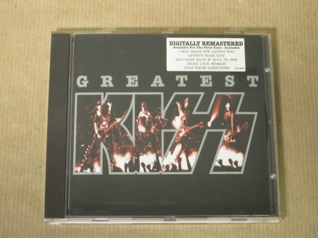 「グレイテスト・キッス~リマスター・グレイテスト・ヒッツ/KISS」輸入盤CD