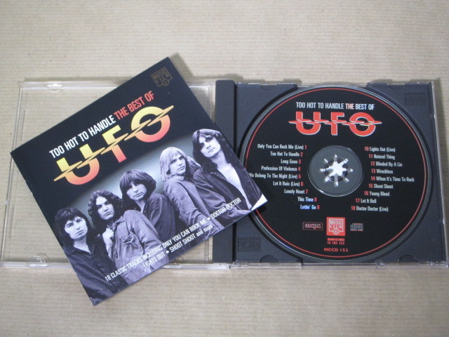 「THE BEST OF UFO/UFO」輸入盤CD