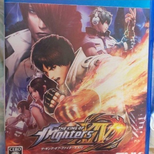 THE KING OF FIGHTERS XIVのps4用ソフト