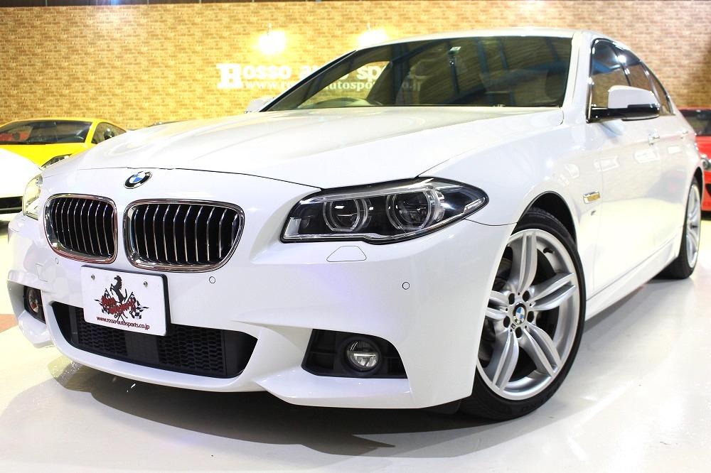 「 ★決算前価格交渉キャンペーン★2016y BMW 5シリーズ 523d Mスポーツディーゼルターボ 51431キロ 茶革シート内外装美車」の画像1