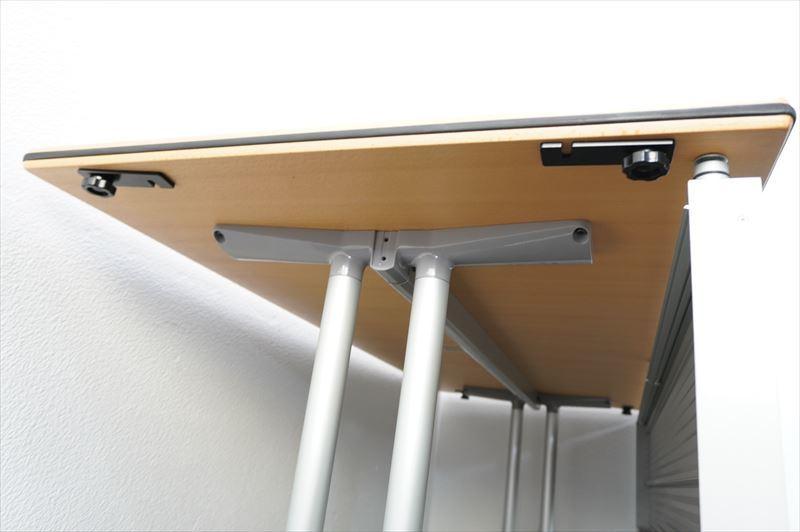 【中古】ウィルクハーン ロゴン ミーティングテーブル 幕板付 1875 H730 (1)_画像6