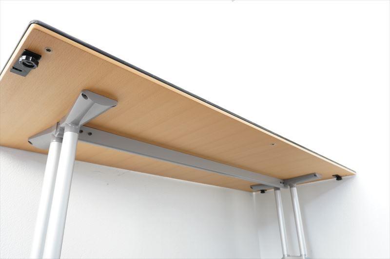 【中古】ウィルクハーン ロゴン ミーティングテーブル 幕板付 1875 H730 (1)_画像10